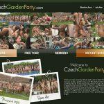 Czech Garden Party Websites