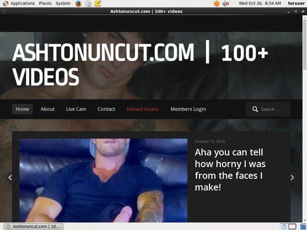 Ashtonuncut.com Account Discount